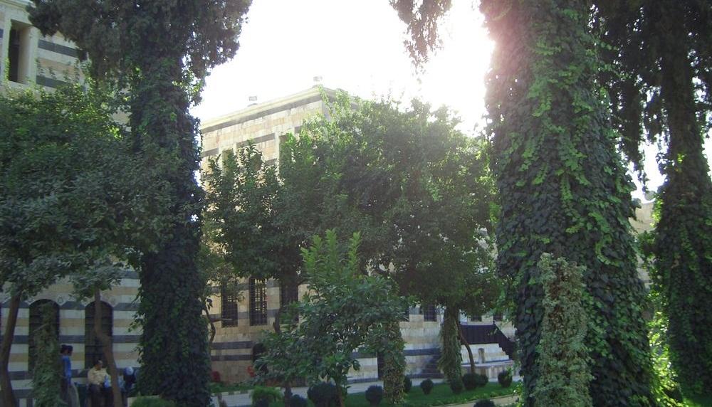 Wie aus 1001 Nacht - Der Azm Palast in Damaskus
