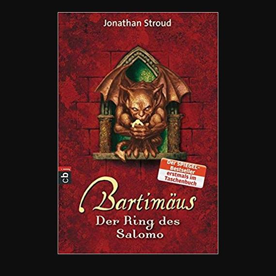 Jungendfantasy: Bartimäus – Der Ring des Salomo von Jonathan Stroud