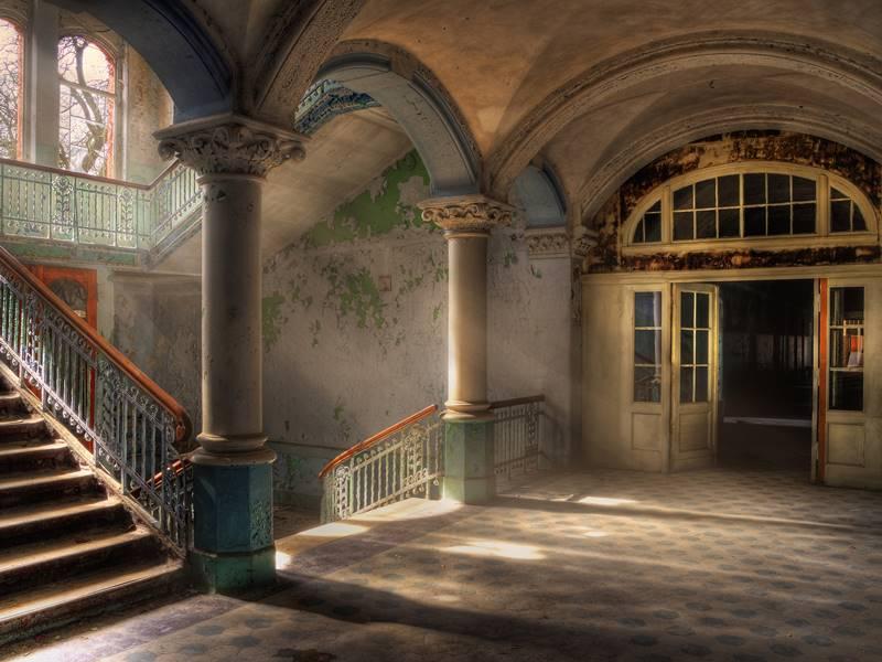 Die Schatten von Beelitz – eine Beelitz Heilstätten Kurzgeschichte